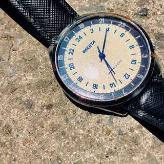 Raketa Antarctic (24 hour watch Soviet watch)