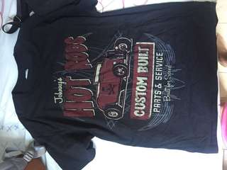 "Hanes Vintage ""Johnny's Hot Rods"" shirt"