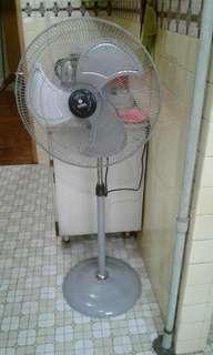 Super powerful large standing fan