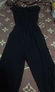 Poetry Black Jumpsuit