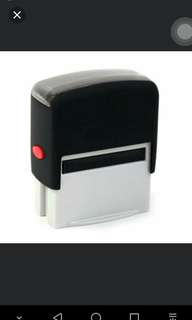 Customise Self-inking Stamp Chop Cheapest!
