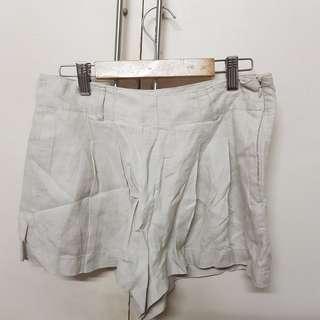 forever 21 - i love h81 flowy beige shorts