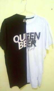 T-Shirt Queenbeer Two Tone not flava supreme off white bape