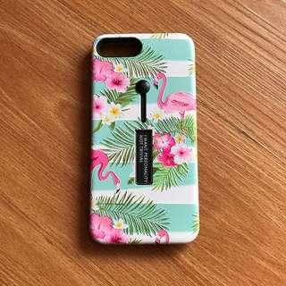 Casing iphone 7plus flamingo