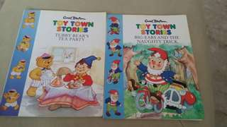 Toy town stories by Enid Blyton