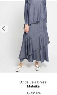 Gamis malaika by hijab story ori