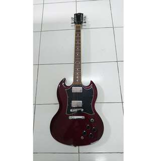 SG SX Electric guitar with SX Amp and bag