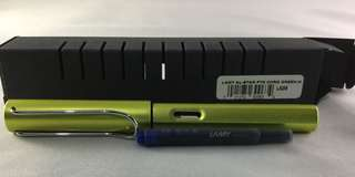 Lamy Charge Green Fountain pen