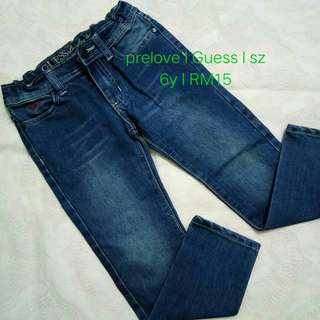 Jeans Guess 6y