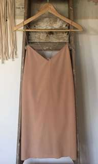 Oak and Fort slip dress
