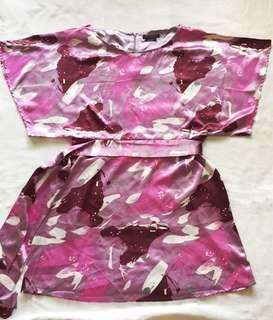 BCBG Maxazria Satin Dress