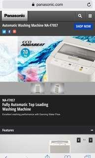 Panasonic Automatic top load washing machine