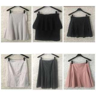 🚚 可議!百貨品牌質感日系短裙(300-400) #miyuki #tokyofashion #bank