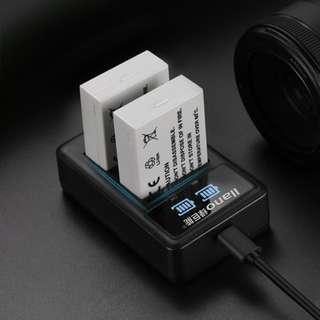 🚚 【Q夫妻】 llano LP-E8 charger 充電器 USB充電 雙槽充電 550D 600D 650D 700D #E1-4