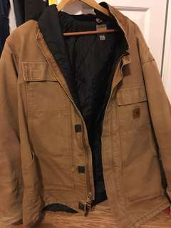 Authentic carhartt jacket size large