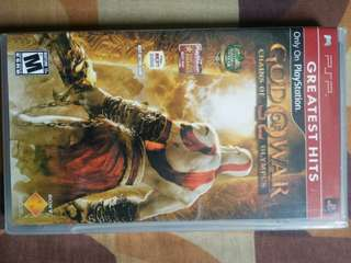 PSP UMD god Of War New Sealed