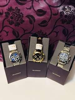 「最後三隻購至日本」日本製男裝三圈面手錶