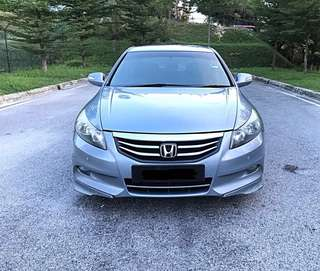 SAMBUNG BAYAR/CONTINUE LOAN  HONDA ACCORD 2.0 AUTO YEAR 2012/2013 MONTHLY RM 1560 BALANCE 4 YEARS NEW ROADTAX LEATHER SEAT AUTO CRUISE SYSTEM ORI MODULO BODYKIT TIPTOP CONDITION  DP KLIK wasap.my/60133524312/accord
