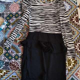 🚚 【芭爸時尚生活館】條紋 洋裝 衣服 女裝