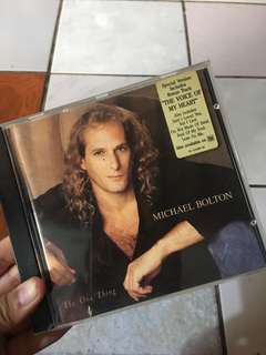 Michael Bolton (the one thing)