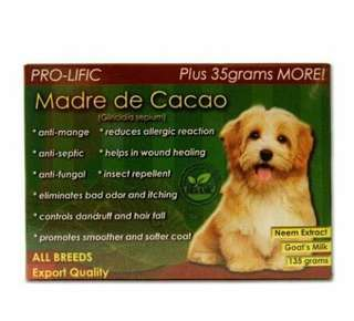 Pro-Logic Madre De Cacao Organic Soap for Dog and Cat 130g