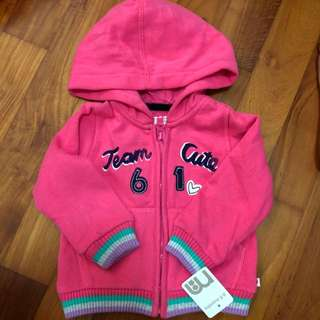 Brand New Mothercare Jacket For Baby Girl (6-9m)