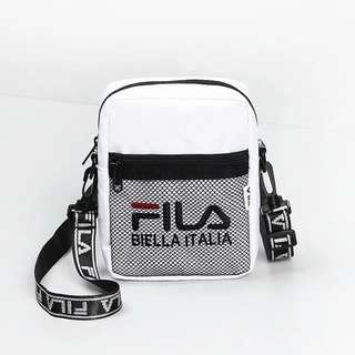 "INSTOCKS Red ""FILA Italia"" Small Shoulder Bag"