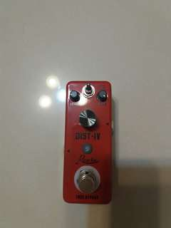 🚚 Rowin Distortion IV effect pedal