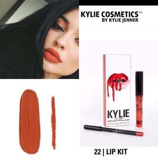 Kylie 22 Matte Lip Kit