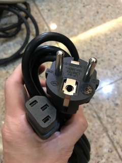 Computer cpu power cable