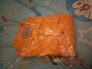 Jacket levis warna kunyit bisa dipakai cewe/cowo