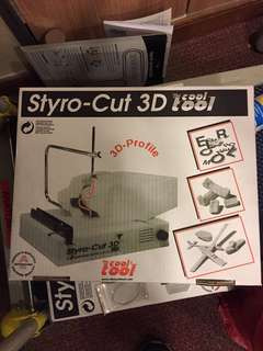 3D styrofoam cutter