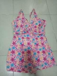 Pink star swimsuit