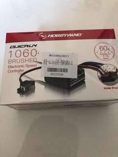 HobbyWing 好盈 1060 有刷電調。