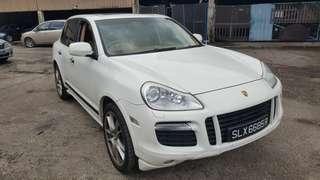 Porsche Cayenne gts 4.8A 2008/9 SG