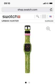 Swatch Urban Hunter ,rolex,G shock, i watch