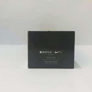 Apple Watch Series 3 Nike+ 42mm Space Gray Aluminium MQL42ZP/A (BARU)