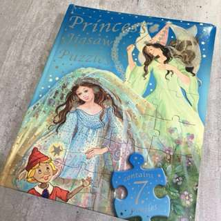 Princess Story Book with Jigsaw Puzzles