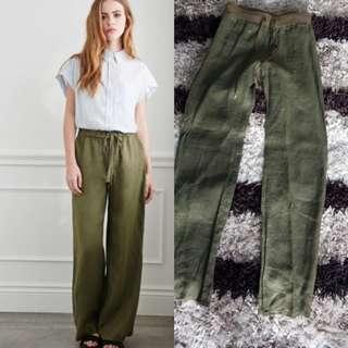 Mango Linen Pants