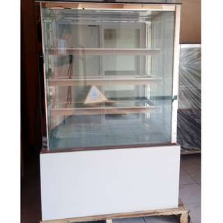 3ft 4layers White Base Front and Back Opening Japanese Style Cake Chiller