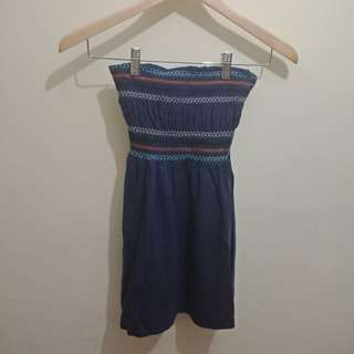 Mini dress kemben