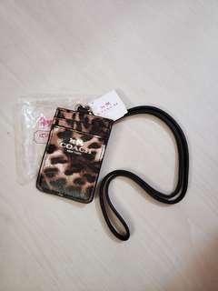 最後一個 全新Coach 卡片套卡套證件套八達通套卡包 香水櫃贈品