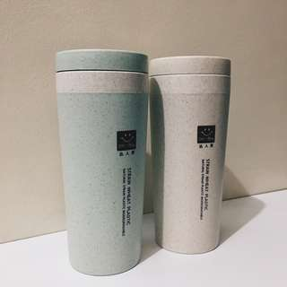 ON HAND: Environment-friendly wheat fiber tumblers and utensils