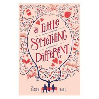 E-book English Novel - A Little Something Different - Sandy Hall