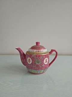 Old Stock Porcelain Teapot New