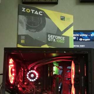 zotac gtx 1060 6gb mini (newly bought 2018 5 years warranty)