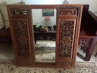 Antique Peranakan Mirror