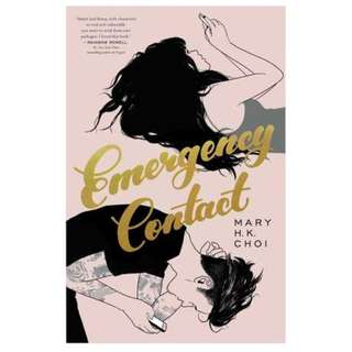E-book English Novel - Emergency Contact by Mary H.K. Choi