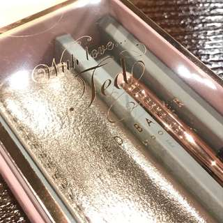 Ted Baker Touch Pen Set - Rose Gold Signature