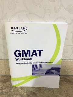 Preloved book kaplan gmat workbook
